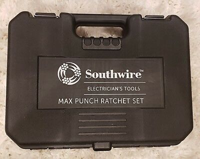 Southwire Electrician's Tools Max Punch Ratchet Set W/Dies, MPR-01SD 7/B11307A