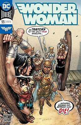 Wonder Woman #55 Dc Universe - 1St Print - Bagged And Boarded. Free Uk P+P!