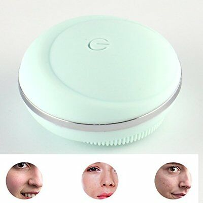 AWStech Portable Mini Electric Facial Cleansing Brush, Sonic Rechargeable