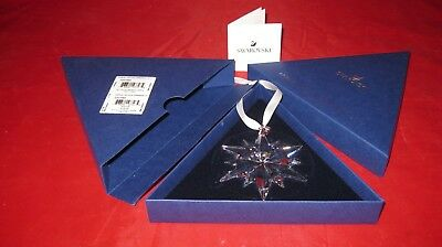 Swarovski 2017 CHRISTMAS ORNAMENT LARGE 5257589 CRYSTAL ANNUAL EDITION,NIB