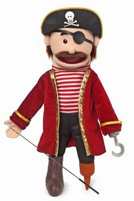 Pirate Kids Full Body Puppets Toys, 25 x 12 x 10 (in.) by Silly Puppets (Z2H)