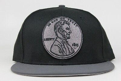 Penny Hardaway One 1 Cent Nike Foamposite Reflective New Era 59Fifty Fitted  Hat c92a4245ab8d