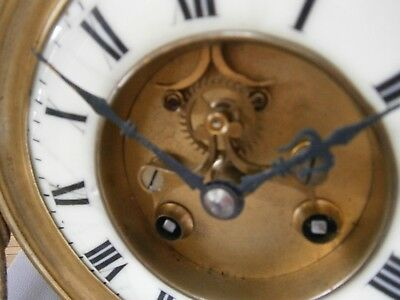 Antique French Brocot Escapment clock movement by  F.Marti for Spares or Repair