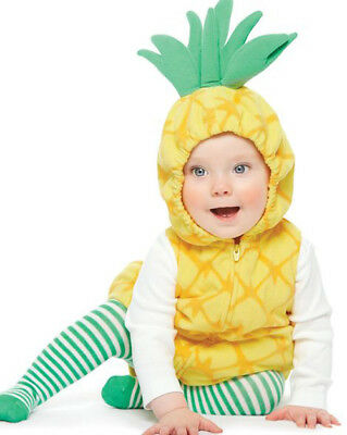 Carter's Baby Girls' 2-Pc. Little Pineapple Costume 18 Months