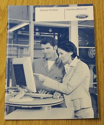 New Genuine Ford Service History Book Petrol Diesel No Duplicate No Copy 2008