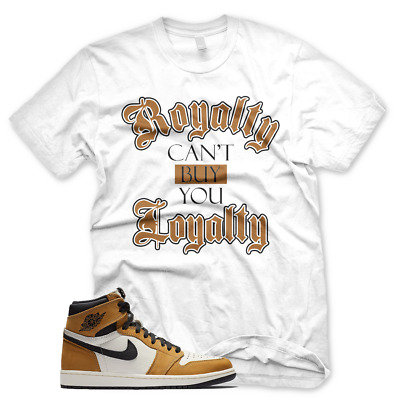 40a126a77ab White ROYALTY T Shirt Jordan 1 Rookie of the Year ROTY Wheat Golden Harvest