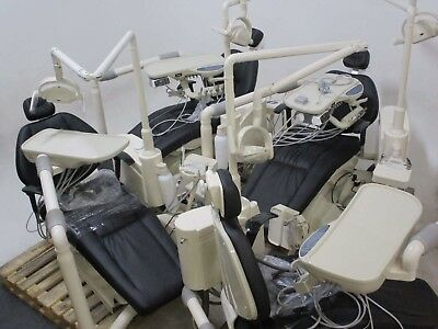 Lot of 4 Full Tuojian Dental Operatory Package Chairs w/ Lights & Deliveries