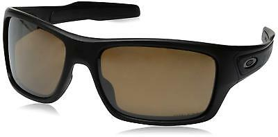Oakley Turbine OO9263-40 Sunglasses Matte Black Prizm Tungsten Polarized  9263 40 496167e9a378