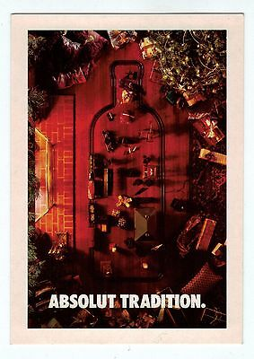 ABSOLUT VODKA COLLECTION No 45 ADVERTISEMENT PROMOCARD