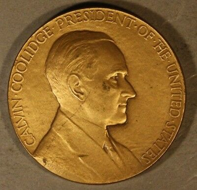 1928 Calvin Coolidge Presidential Medallion US Mint ** FREE U.S. SHIPPING **