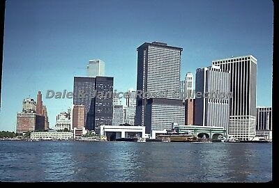 N197 35mm Slide 1975 New York City From the Water Color Transparency