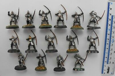 15 WARRIORS OF MINAS TIRITH ARCHERS Lord of the Rings LOTR Good Gondor Army 59