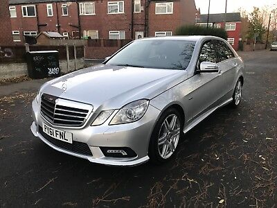 2012 61 Mercedes Benz E350 Sport 3.0Cdi Blueefficieny Auto Damaged Repaired