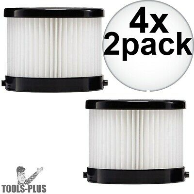 Milwaukee 49-90-1951 2Pk HEPA Filter for 0882-20 4x New