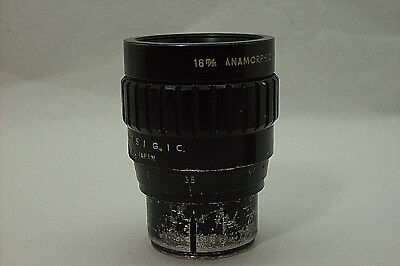 Maikarscope 16Mm Anamorphic  Unusual Metal Compact  Lens With Focusing