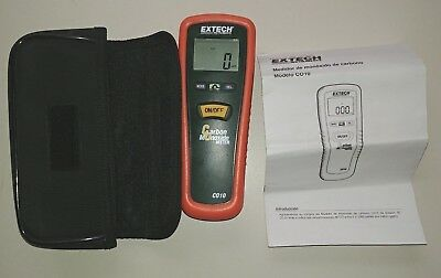 Extech Instruments CO10 C010 Industrial Carbon Monoxide Meter Works Great!