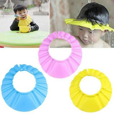 Baby Kid Toddler Adjustable Hair Wash Hat Shampoo Bathing Shower Eyes Shield BE