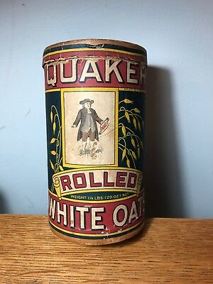Quaker Rolled White Oaks 1.25 lb Cardboard Round Container