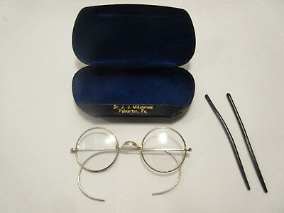Beatles John Lennon Antique Vintage Genuine Signed Shur-On Windsor Eyeglasses
