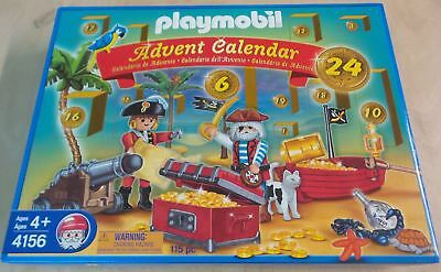 Playmobil 4156 - Adventskalender Piraten in der Piratenlagune NEU MISB SELTEN