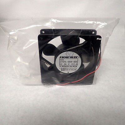MINEBEA 4715PL-05W-B30 FLOWMAX  DC BRUSHLESS FAN 120 x 38mm 24VDC 0.3A 2PIN NOS