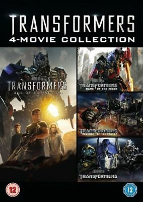 Transformers 4 Movie Collection (DVD)