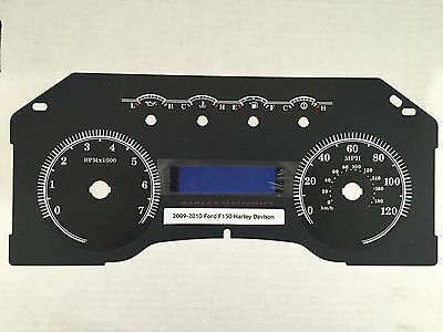 2009 - 2010 Ford Harley Davidson Speedometer Faceplate MPH