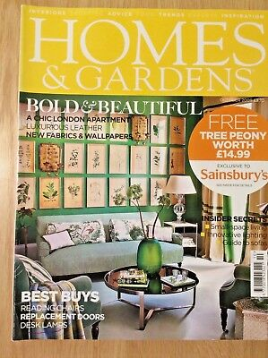 Homes and Gardens October 2009