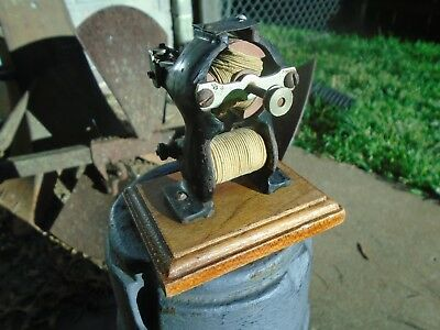ANTIQUE 1800's LITTLE HUSTLER Bipolar Electric Motor