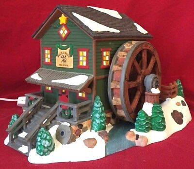 Rock Creek Mill House Dept 56 Snow Village 54932 Christmas city heritage home A