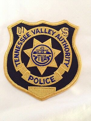 Tennessee Valley Authority TVA TN Police Patch New