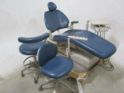 Adec Performer Dental Exam Patient Chair w/ Delivery & Matching Stools - 70583