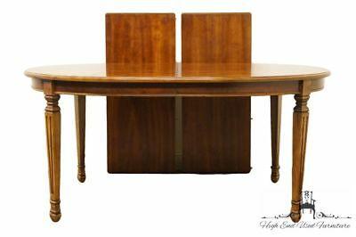 "STANLEY FURNITURE Italian Neoclassical Fruitwood 100"" Dining Table 8311-32"