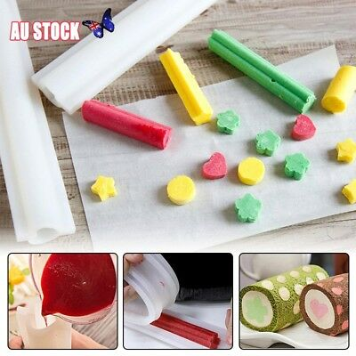 Silicone DIY Tube Soap Mold Candle Mould Templet Making Tool Handmade Craft Art