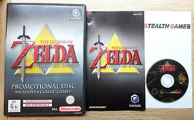 The Legend of Zelda Collector's Edition Nintendo Gamecube Wii PAL Promotional