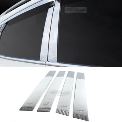 Chrome Window Line Cover Molding K-242 for HYUNDAI 2011-2017 Accent Hatchback