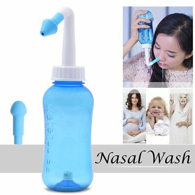 300ml Nasal Wash Cleaner Nasal Irrigation Rinse Nose Care for Adult Kid HG197