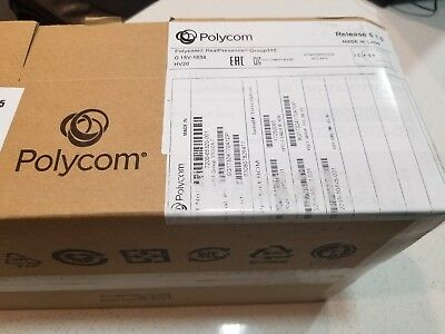 BRAND-NEW Polycom RealPresence Group 310 COMPLETE HD Video Conferencing System