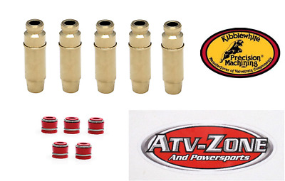 Kibblewhite Intake and Exhaust Valve Guides and Seals YZ 450F 2003-2009 WR 450F