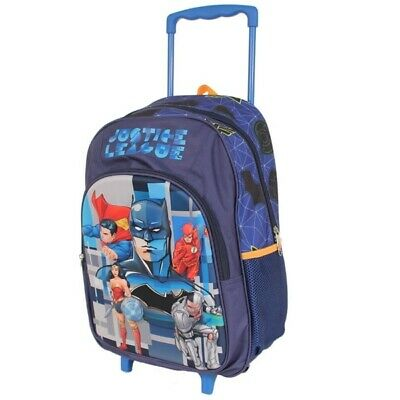 Justice League DC Comics Trolley Backpack Suitcase