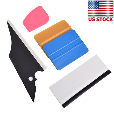 5 in1 Car Window Film Tools Tint Squeegee Scraper Set Kit Home Use Tint US Stock