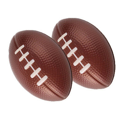6pcs/pack Stress Relief Vent Ball American Football Squeeze Foam Rugby Ball Toy