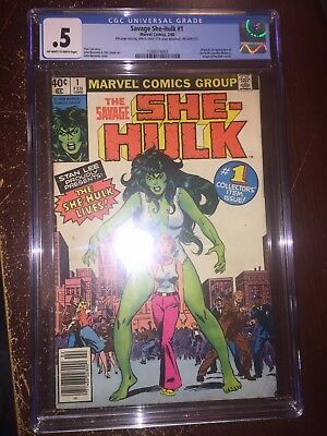 Savage She-hulk #1 CGC 0.5 Feb 1980