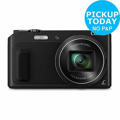 Panasonic TZ57 16MP 20X Zoom WiFi 1080p Compact Digital Camera - Black