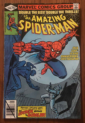 AMAZING SPIDER-MAN #200 NM NEAR MINT Origin Retold The Burglar J.Jonah Jameson