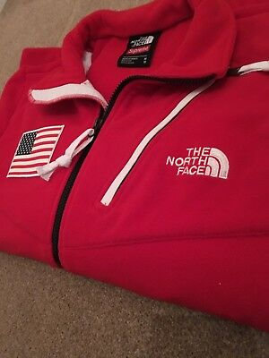 e7c5d9bf Supreme x The North Face TNF Trans Antarctica Expedition Fleece Red Medium  DS