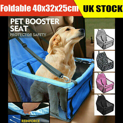 Large Pet Car Booster Seat Puppy Cat Dog Carrier Travel Protector Safety Basket