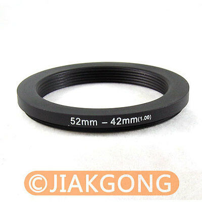 52mm-42mm 52-42 Step Down Filter Ring Stepping Adapter