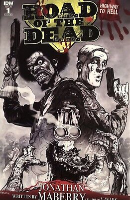 Road Of The Dead: Highway To Hell #1 Santiperez 1:10 RI Variant IDW 2018 Maberry