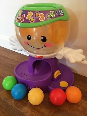 Fisher Price Gumball Ball Drop Baby Toy